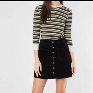 Free People Good On You Stripe Tee Army